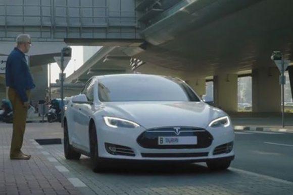 Tesla dubai