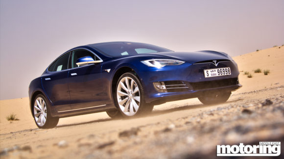 Tesla Model S 90D review in Dubai