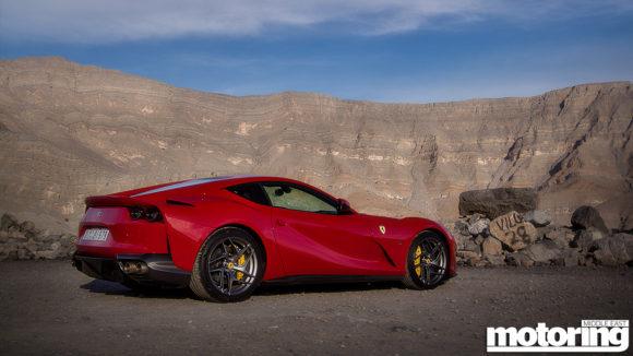 Ferrari 812 Supefast Jebel Jais