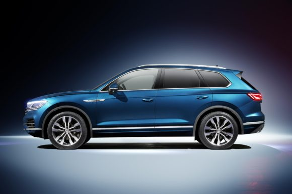 All-new 2018 Volkswagen Touareg