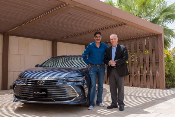 Toyota Avalon lifestyle Dubai launch event at The House of Avalon