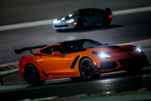 Track night - Corvette ZR1 & Camaro ZL1